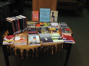 book display: Religious diversity and religious freedom in Canada
